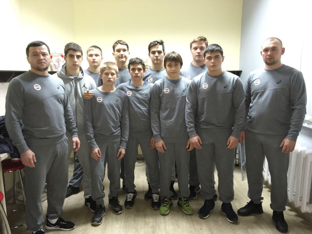 Семь медалей завоевали башкирские борцы на Первенстве Приволжского федерального округа по греко-римской борьбе среди юношей