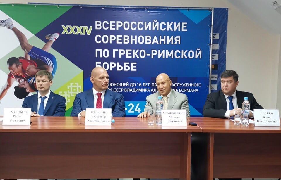 Карелин и Мамиашвили пообщались с журналистами