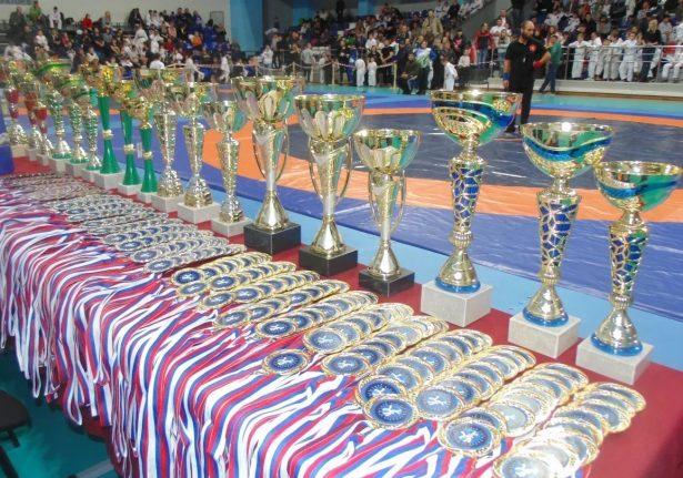 В Уфе масштабно прошел Всероссийский турнир по спортивной борьбе «грэпплинг» «UFA OPEN KIDS II»