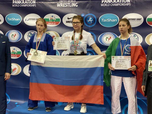 У спортсменов Башкортостана три медали по итогам чемпионата мира по панкратиону в Риме