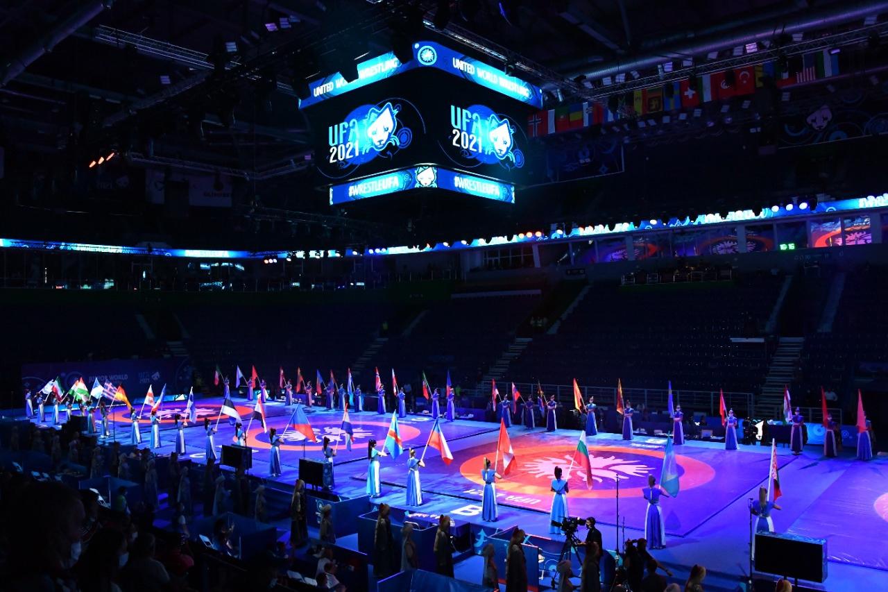 В Уфе состоялось торжественное открытие первого в России юниорского чемпионата мира!