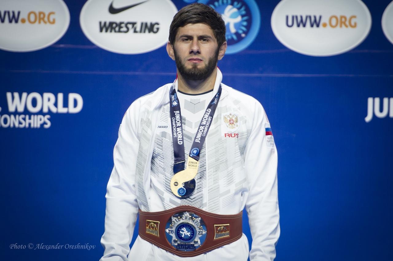 Адлан Амриев - победитель юниорского чемпионата мира!